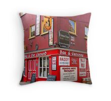 The Sky and the Ground Throw Pillow