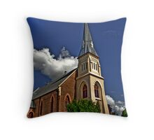 St. Stephens, Ipswich. Throw Pillow