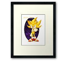 Super Sonic Framed Print