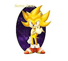 Super Sonic Photographic Print