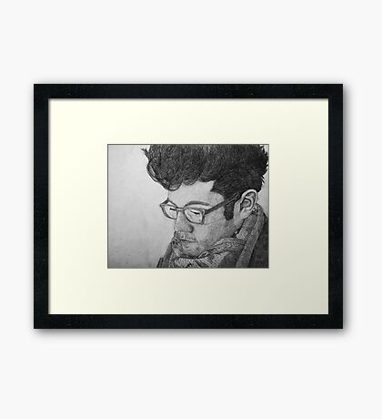 Listen To The Silence - Dan Smith Framed Print