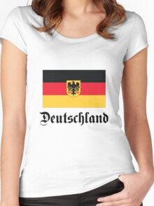 Deutschland - light tees Women's Fitted Scoop T-Shirt