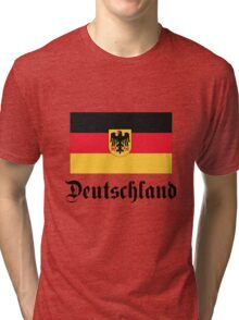 Deutschland - light tees Tri-blend T-Shirt