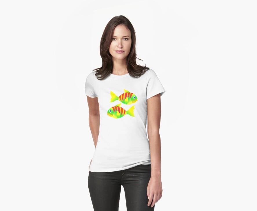 FISHY T-Shirt by Orla Cahill