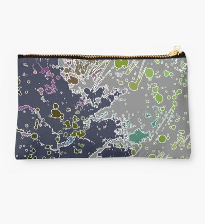 Cool Perspective - Gray Green Studio Pouch