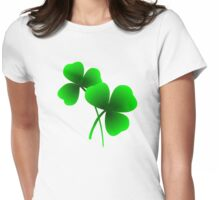 Lucky Shamrock - Saint Patrick's Day Womens Fitted T-Shirt