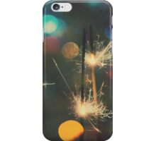 Christmas Sparkler 5 iPhone Case/Skin