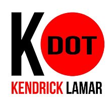 """K - Dot Kendrick Lamar"" Red Dot by Telic"