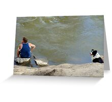 keeping cool together Greeting Card