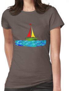 SAILING Womens Fitted T-Shirt