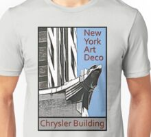 New York Art Deco - Chrysler Building Eagle Unisex T-Shirt