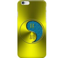 Gemini & Dragon Yang Water iPhone Case/Skin