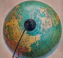 Antique Globe by davidlichtneker