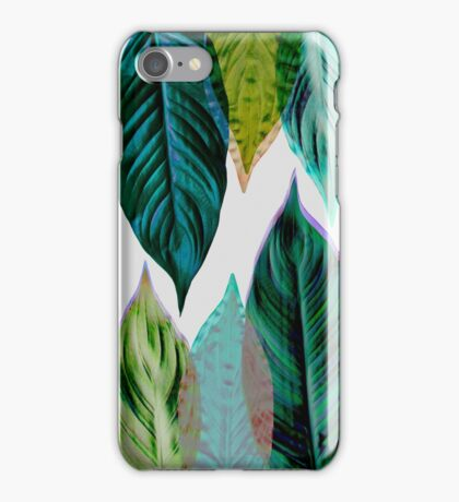 Green Leaves iPhone Case/Skin