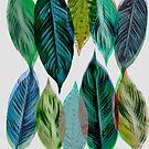Green Leaves by Mareike Böhmer