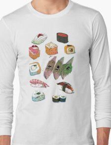Sushi set Long Sleeve T-Shirt