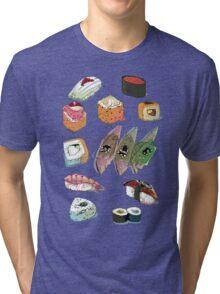 Sushi set Tri-blend T-Shirt