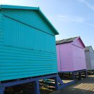 Beach Huts by Rhys Herbert