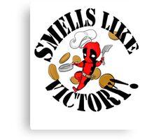 smells like victory! Canvas Print