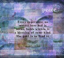 Buddha Blessings quote by goldenslipper