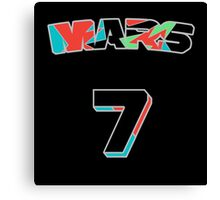 MARS Jersey Canvas Print