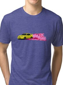 Subaru STi Drift in Color Tri-blend T-Shirt