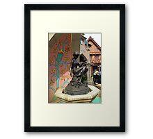 Cinderella Fountain Framed Print