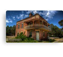 Royal Hotel, Marulan, NSW Canvas Print