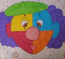 Kiddie Clown by Sophia Spencer