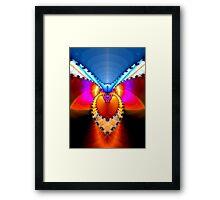 """""""On wings"""" Framed Print"""