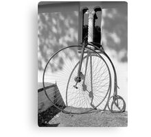 'The Prisoner' Pennyfarthing Canvas Print