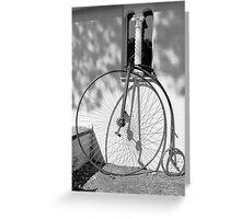 'The Prisoner' Pennyfarthing Greeting Card