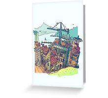 Vigo , under construction Greeting Card