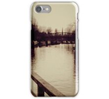 The River Cambs iPhone Case/Skin