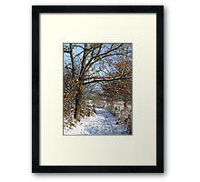 Snow Scene 3 Framed Print