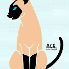 Siamese Cat by EsJayDesigns