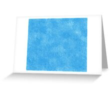 Abstract blue icy geometric background Greeting Card