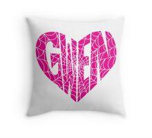 Gwen Heart Throw Pillow