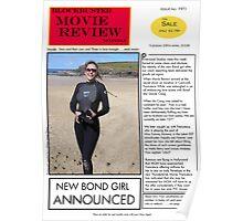 New Bond Girl Poster