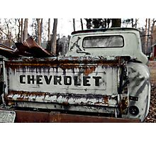 Will a truck sit idle and rust... Photographic Print