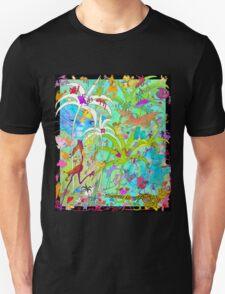 Hiding Cats Unisex T-Shirt