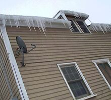 Icicles Atop by notculpable