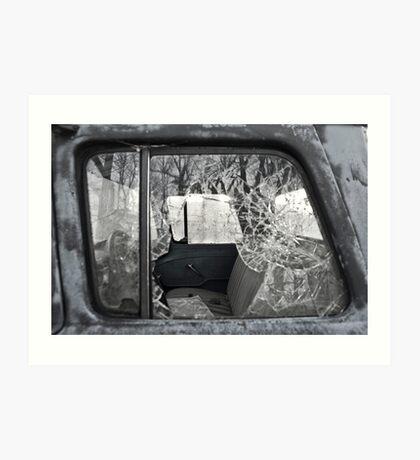 Bench Seat Art Print