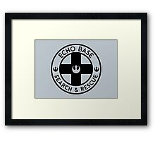 Echo Base - Search and Rescue Framed Print