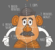 Potato Cuts by Ursula Lopez