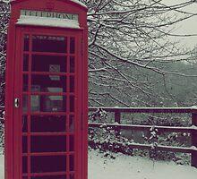 Telephone box by Lewkeisthename