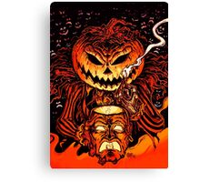 Pumpkin King Lord O Lanterns Canvas Print