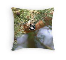 Avian Acrobat Throw Pillow