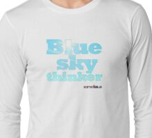 Blue Sky Thinker - light colours Long Sleeve T-Shirt