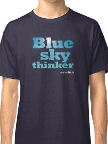 Blue Sky Thinker - dark colours Classic T-Shirt